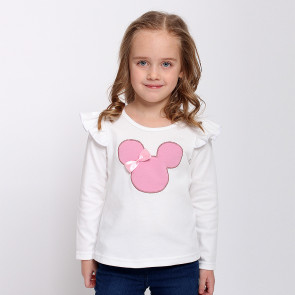 Блузка для девочек 4137 ( интерлок)