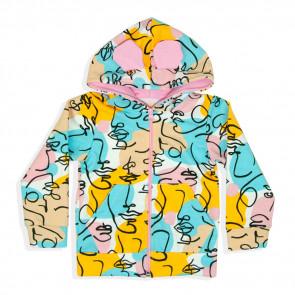 Курточка для девочки 4159-1 (двунитка)