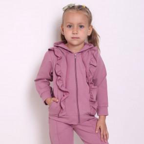 Курточка для девочки 4173 (двунитка)