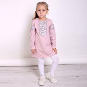 Сукня для дівчаток 4051 (двунитка)